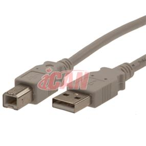 iCAN USB Cable A/B - 10 ft. (for PC to USB2 Printer or other USB V.2 Device) (USB2HSAB-10)