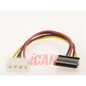 iCAN SATA Power Cable Adapter  (Connect SATA-Hard driver to ATX Power 4-Pin Cable) (PWR SER-ATA-06)