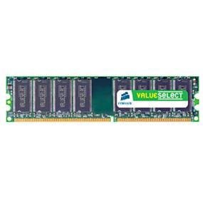 Corsair Value Select 1GB DDR 400MHz CL3 DIMM (VS1GB400C3)