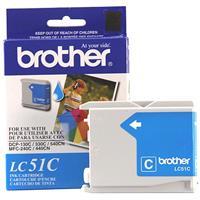 Brother LC51C Cyan Ink Cartridge