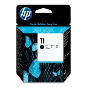 HP 11 Black Original Ink Cartridge (C4810A)