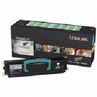 Lexmark E250A11A Black Toner Cartridge - Black - Laser - 3500 Page