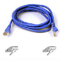 Belkin FastCAT5e RJ45 Patch Cable (Blue) - 3 ft (A3L850-03-BLU)