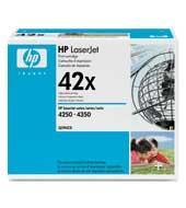 HP 42X (Q5942X) Black High Yield Original LaserJet Toner Cartridge