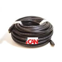 iCAN Heavy Duty Commercial Grade (in-Wall CL3, FT4) Gold Plated HDMI 24AWG Ethernet, 3D, 4K Deep Colour  1080P/1600P - 50 ft. (HH-24-CL3-050)