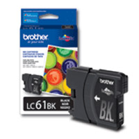 Brother LC-61 Black Ink Cartridge (LC61BK)