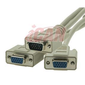 iCAN VGA Y Cable Splitter (VGA Y-009)