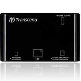 Transcend P8 Multi-Card Reader - Black (TS-RDP8K)