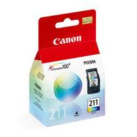 Canon CL-211 Tri-Color Ink Cartridge (2976B001)