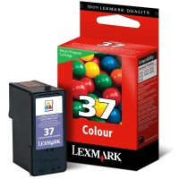 Lexmark #37 18C2140 Tri-Color Ink Catridge - Color - Inkjet - 150 Page