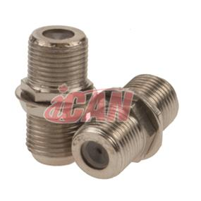 iCAN RG6 F-type Coupler F/F (ADP F-TYPE-FF)