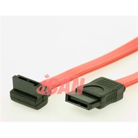 "iCAN SATA Cable -18 "" (one 90 degree, one end straight) (SATA 3G-018RS)"