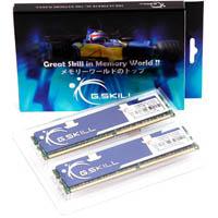 G.SKILL PQ Series 4GB (2x2GB) DDR2 800MHz (PC2-6400)  Dual Channel Kit (F2-6400CL5D-4GBPQ)