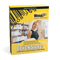 Wasp QuickStore POS Professional Edition - Point of Sale Software (1 user)