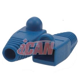 iCAN CAT5/CAT6 Blue Snagless Boots 10 pcs (BT 6MM-SLBLU-10)