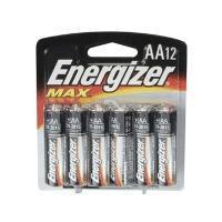 Energizer Max 12xAA Alkaline Battery (E91BP12)