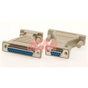 iCAN DB9 Female/DB25 Female Adapter (ADP 9F25F)