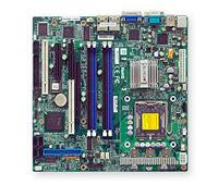 Supermicro PDSML-LN2+ - Intel 3000 Chipset (Mukilteo-2) - up to 8GB DDR2 667/533 - 2xGIGABIT - 4xSATA (RAID 0/1/5/10) - MicroATX (uATX)