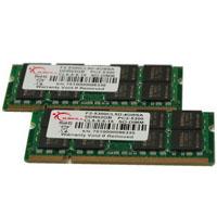 G.SKILL SA Series 4GB (2x2GB) DDR2 667MHz CL5 SODIMM Memory (F2-5300CL5D-4GBSA)