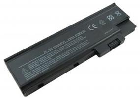 iCAN Compatible ACER Aspire/Extensa/TravelMate Laptop Battery 8-Cells (Samsung Cell) 4400mAH Replacement for: P/N 4UR18650F-1-QC192, BTP-AS1681, BT.T5003.001, BT.T5003.002, BT.T5005.001, BT.T5005.002, BT.T5007.001, BT.T5007.002, LC.BTP03.003