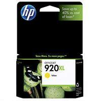 HP 920XL Yellow High Yield Original Ink Cartridge (CD974AN)