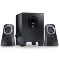 Logitech Z313 (980-000382) -- 2.1 Stereo Speaker System (Retail Box)