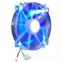 Cooler Master 200mm Blue LED Silent MegaFlow Case Fan (R4-LUS-07AB-GP)