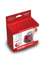 Evolis Badgy 30mil Card Pack (VBDG103EU) - Size CR-80 - 200 Cards Included