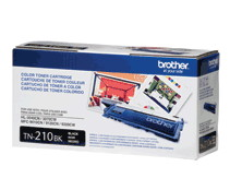 Brother TN210BK Black Toner Cartridge - 2200 Pages
