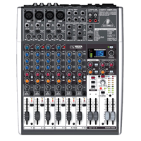 Behringer Xenyx X1204USB, Small Format Mixer - Premium 12-Input 2/2-Bus Mixer with XENYX Mic Preamps & Compressors, British EQs, 24-Bit Multi-FX Processor, USB/Audio Interface and energyXT2.5 Compact BEHRINGER Edition Music Production Software