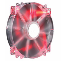 Cooler Master 200mm Red LED Silent MegaFlow Case Fan (R4-LUS-07AR-GP)