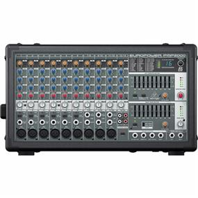 Behringer Europower PMP2000 - 800-Watt 14-Channel Powered Mixer with Multi-FX Processor