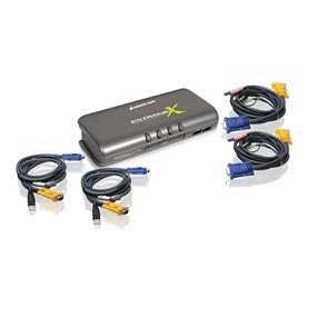 IOGEAR GCS1734, 4-port USB-PS/2 VGA KVMP Switch with Audio