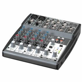 Behringer Xenyx 802, Small Format Mixer - Premium 8-Input 2-Bus Mixer with XENYX Mic Preamps and British EQs