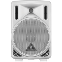 "Behringer Eurolive B208D-WH Professional Speaker - Active 200-Watt 2-Way PA Speaker System with 8"" Woofer and 1.35"" Compression Driver"