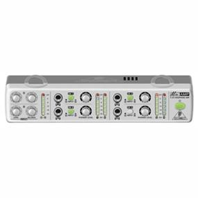 Behringer MiniAMP AMP800 - Ultra-Compact 4-Channel Stereo Headphone Amplifier