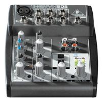 Behringer Xenyx 502 - Compact Audio Mixer