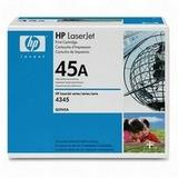 HP 45A (Q5945A) Black Original LaserJet Toner Cartridge
