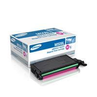 Samsung CLT-M508L Magenta Toner Cartridge - 1000 Page (CLT-M508L)