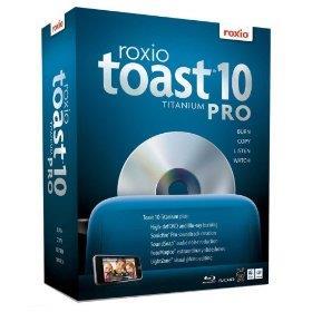 Roxio Toast v10 Titanium Pro, Burn, Copy, Listen, Watch - Mac