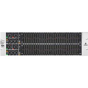 Behringer Ultragraph Pro FBQ6200 - Ultra-Musical 31-Band Stereo Graphic Equalizer with FBQ Feedback Detection System, Dedicated Limiters per Channel and Pink Noise Generator