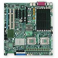 Supermicro X7DBE Dual LGA 771 Sockets Intel 5000P Chipset, Quad/Dual-Core Xeon up to 3.40 GHz Support, DDR2 667/533MHz Up to 32GB ECC FB-DIMM DIMM, Intel 82563EB Dual Gigabit Ethernet, Extended ATX