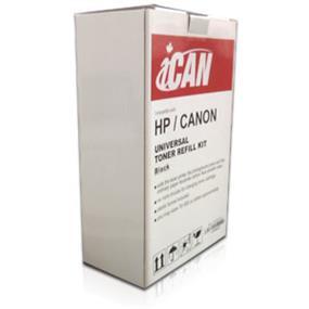 iCAN Toner Refill Kit for HP/Canon - 250 grams