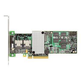 Intel (RS2BL080) 8 Ports SAS RAID Controller PCIe 2.0 512M MD2 Low Profile