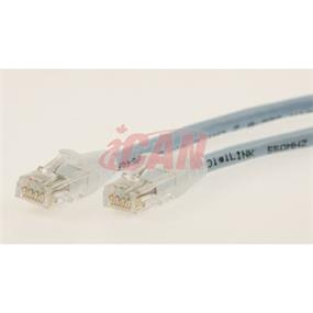 iCAN CAT6 RJ45 Patch Cable, Snagless - 3 ft.  (Light Blue) (C6ENB-003LBU)