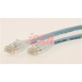 iCAN CAT6 RJ45 Patch Cable, Snagless - 75 ft.  (Light Blue) (C6ENB-075LBU)