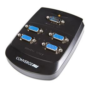 StarTech 4 Port Wall Mountable VGA Video Splitter (ST124W)