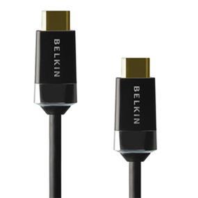 Belkin High Speed HDMI Cable - Full HD 3D 1080p, 10.2 Gbps+ (AV10049-12) - 12 ft.