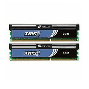 Corsair XMS3 Classic 8GB (2x4GB) DDR3 1333MHz CL9 DIMMs,(CMX8GX3M2A1333C9)