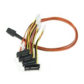 3Ware Cable 0.6m SAS/SATA Breakout Cable (SFF-8087 to 4x SFF-8482)
